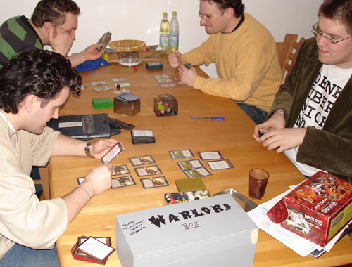 Warlord CCG - First Playtest Session