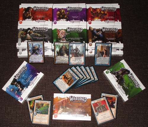 Warlord Booster Draft Kit