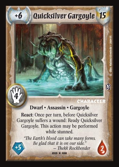 Quicksilver Gargoyle