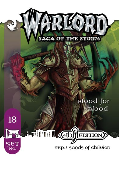 Warlord APS #18: Blood for Blood (The Chosen)