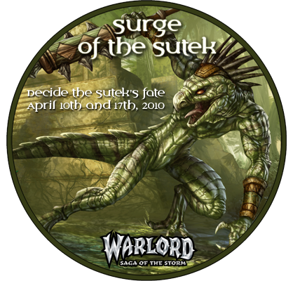 Surge of the Sutek Logo