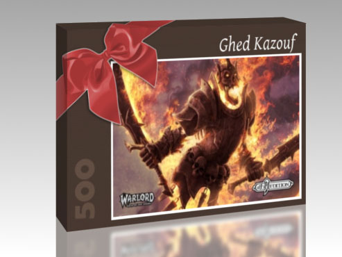 This is what the packaging of a Warlord Puzzle could look like