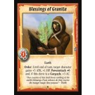 Blessings of Granite - Promo Card