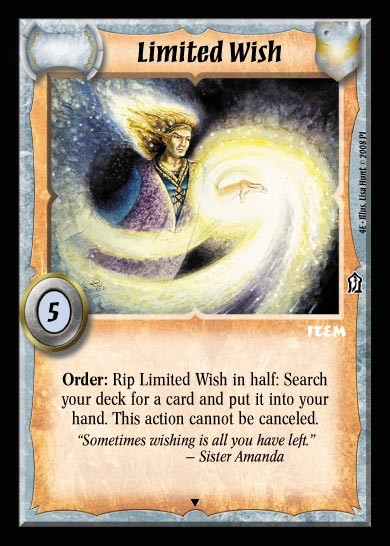 Limited Wish - Promo Card